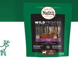 150 packs de croquettes NUTRO pour chiens et chats à recevoir sur consoanimo.com