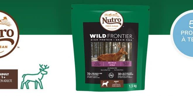 150 packs de croquettes NUTRO pour chiens et chats à recevoir