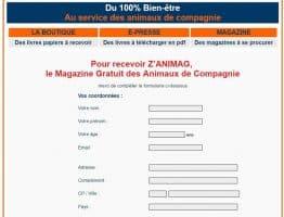 Le magazine Z'ANIMAG à recevoir gratuitement sur frenchtoutou.com
