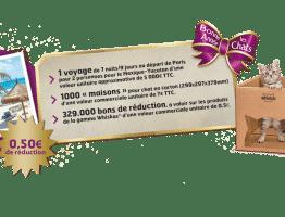 Jeu Whiskas «Bonne Année les Chats 2019 » : un voyage et de nombreux cadeaux à gagner sur jeuwhiskas.fr
