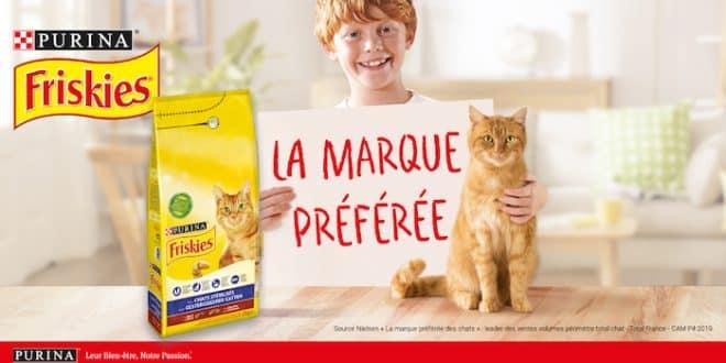 2000 croquettes FRISKIES® pour chats stérilisés à recevoir sur theinsidersnet.com