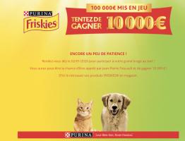 Jeu Maxi Croquette Friskies 2020 : 100 000€ à gagner sur nestlefr.qualifioapp.com